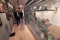 Zrekonstruované muzeum v Kloboukách u Brna navštívil i hejtman Bohumil Šimek.