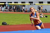 Výškařka Lucie Krtičková dokázala jako jediná překonat na Českých akademických hrách laťku ve výšce 170 centimetrů. Tímto si vylepšila nejlepší letošní výkon.