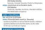 Užitečné informace k oblastnímu kolu soutěže mladých interpretů lidových písní Zpěváček Slovácka.