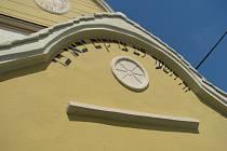 Otevření židovské synagogy