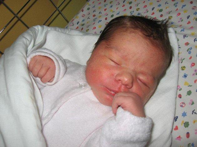 Andrea Marková, 27. října 2011, Strážnice, 50 cm, 3,5 kg