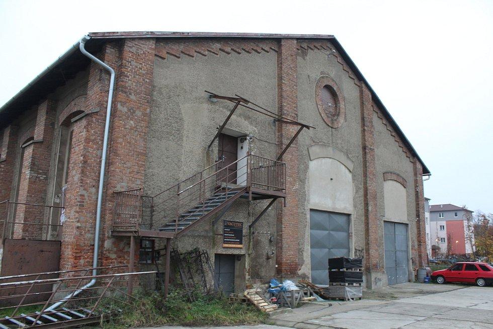 Areál bývalých Velkých kasáren v Hodoníně.