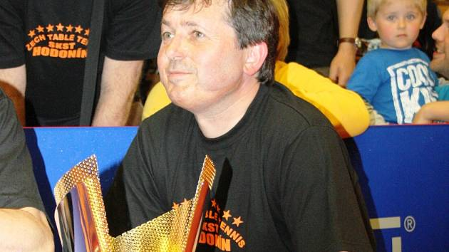 Manažer SKST Mart Hodonín Milan Kurka.