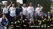Dobrovolní hasiči v Nenkovicích.