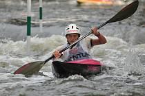 Třináctiletý kanoista Roman Ivánek z Veselí nad Moravou zaznamenal v posledním období hned několik úspěchů.
