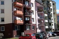 Městské byty na hodonínské Šafaříkové ulici.
