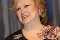 Sedminásobná olympijská vítězka Věra Čáslavská přijela poprvé do Hodonína.