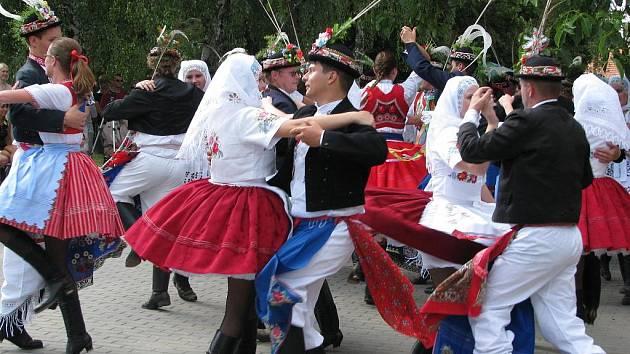 Národopisný festival v Miloticích.