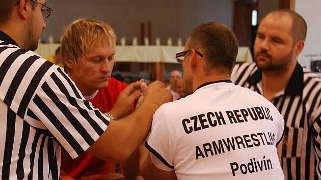 Ždánický pákař Michal Zapletal.