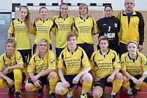 Fotbalistky druholigového Hodonína skončily na dvoudenním turnaji v Uherském Brodě čtvrté.