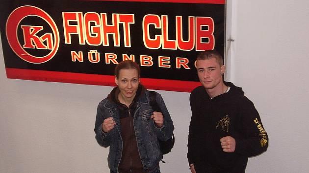 Miroslava Janečková s Pavlem Lamackým