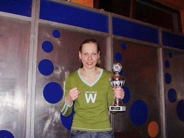 Hodonínská thaiboxerka Miroslava Maja Janečková