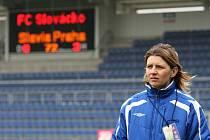 Trenérka Slovácka Jitka Klimková.
