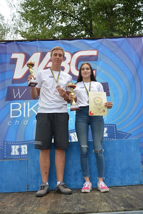 Biketrialisté z Kyjova uspěli ve světě