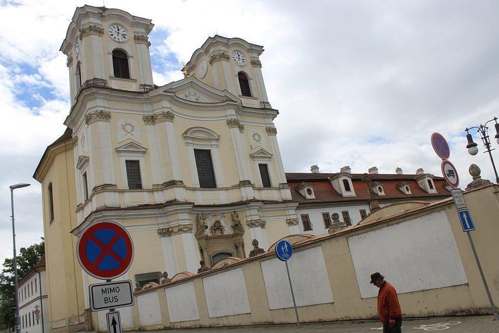 Kostel svatých Andělů strážných.