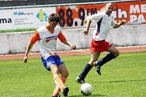 Veslař Milan Viktora navlékl ve čtvrtek dres hodonínské městské police. Ve dvou zápasech nastřílel český reprezentant tři branky.