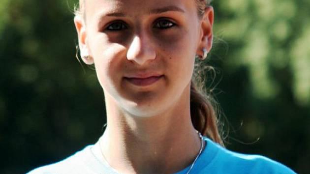 Nadějná kyjovská běžkyně Natálie Kolajová.