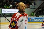 Hodonínský manažer Martin Vyrůbalík je stále hráčem extraligového týmu HC Olomouc.