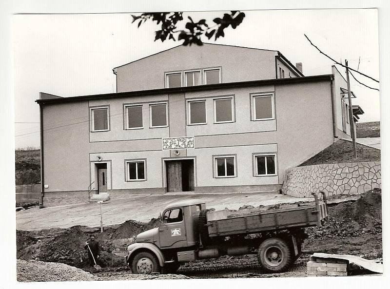 Původní podoba kulturního domu v Archlebově.