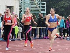 Prvního kola přeboru družstev starších žáků se na stadionu U Červených domků v Hodoníně celkem zúčastnilo 260 atletů ze čtrnácti jihomoravských oddílů. Z vítězství se radovala družstva chlapců Lokomotivy Břeclav a dívek JAC Brno.