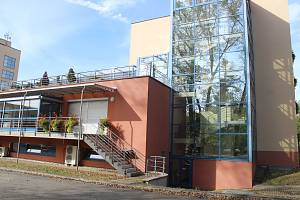 Lázeňský dům Eva v Hodoníně.
