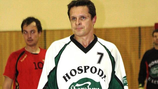 Zkušený futsalista Miroslav Sladký se na obratu vacenovického Kvasaca podílel dvěma brankami.