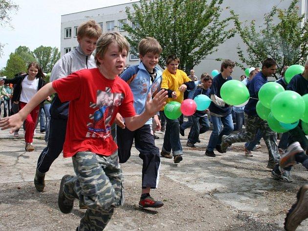 Děti utíkaly pro zdraví