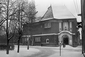 Takhle zachytil Hodonín v zimě 1970 fotograf Antonín Kučera.