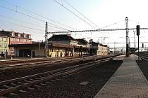 Hodonínské nádraží po rekonstrukci.