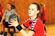 Mezi hlavní opory týmu starších dorostenek HK Veselí nad Moravou patří Dagmar Lukšíková.