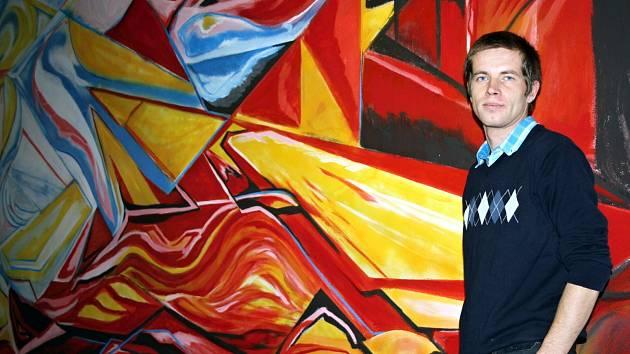 Umělec Jan Eipell.