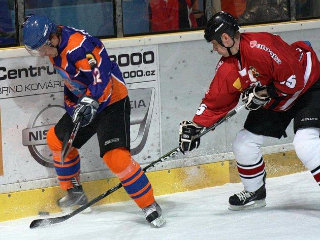Hodonínští hokejisté po třech domácích výhrách v řadě tvrdě narazili.