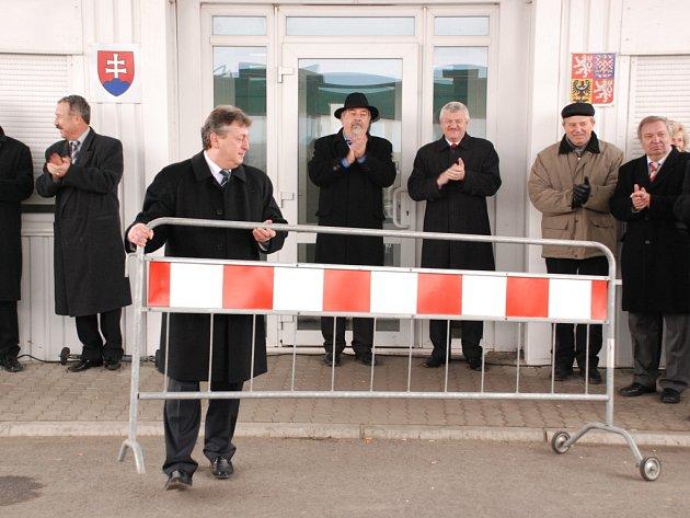 Otevření hranic v Sudoměřicích