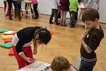 Oslava desátého výroči Dětského ateliéru v Galerii výtvarného umění v Hodoníně.