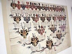 Výstava ve Veselí ukazuje historii rodu hrabat Chorynských.
