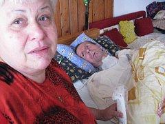 Hana Trbolová a její muž Antonín