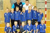 Hodonínští Vlčáci skončili na domácím mezinárodním turnaji Prygl cup 2011 třetí.