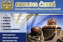 Koruna česká - Monarchistická strana Čech, Moravy a Slezska.