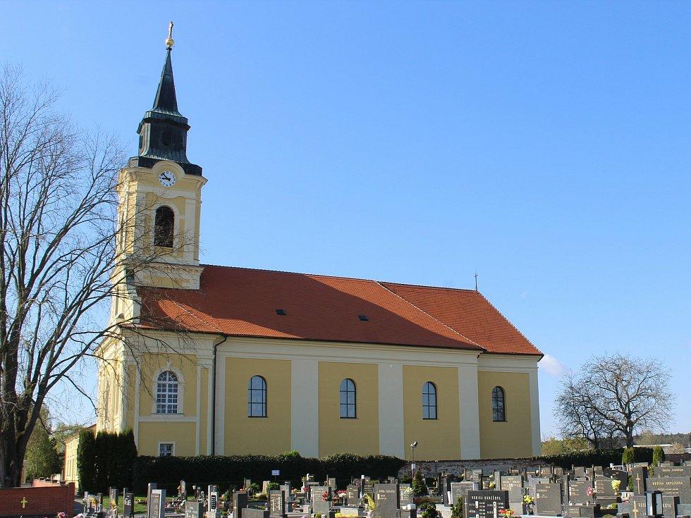 Chrám svatých Cyrila a Metoděje v Ratíškovicích se stal druhou nejlépe opravenou památkou Jihomoravského kraje za rok 2020.