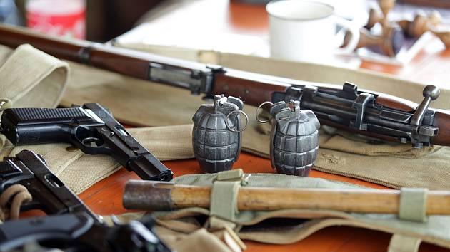 Malé i velké návštěvníky přilákal vojenský den pořádaný Military muzeem ve Vlkoši.