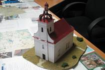 Model podoby bzenecké kaple.