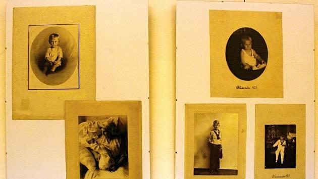 Výstava nabízí desítky fotek rodiny Laudonů.