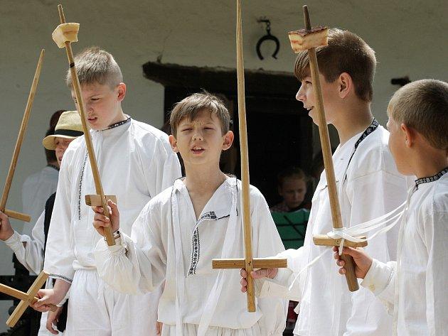 Mezinárodní folklorní festival ve Strážnici na Hodonínsku.