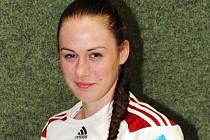 Sedmnáctiletá spojka Tatiana Gajdošíková bude v nadcházející sezoně hájit barvy interligového Veselí nad Moravou.