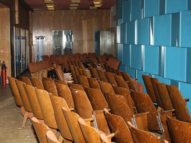 V kyjovském kině Panorama začaly očekávané opravy. Zaměří se převážně na pohodlnější posezení v kinosále a lepší zvuk.