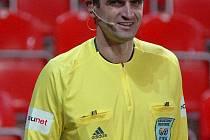 Prvoligový rozhodčí Antonín Kordula má za sebou nepříjemný zážitek.