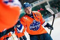 Kapitán hodonínských hokejistů Petr Peš bude modrooranžový dres Drtičů oblékat i nadcházející druholigové sezoně.