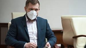 Krajský koordinátor Lukáš Homola.