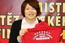 Dres mistrovského Hodonína bude v nadcházející sezoně oblékat i Japonka Shiho Onová.