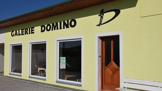 Galerie Domino v Letovicích.